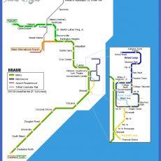 Miami Subway Map - Toursmaps regarding Miami Train Map