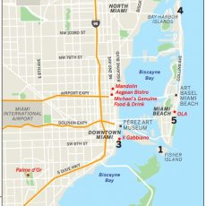 Miami Travel Guide 2015 | Where To Eat, Stay And Shop throughout Map Of Miami Beach Florida