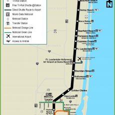 Miami Tri-Rail Map   Map, System Map, Deerfield Beach throughout Trolley Miami Beach Mapa