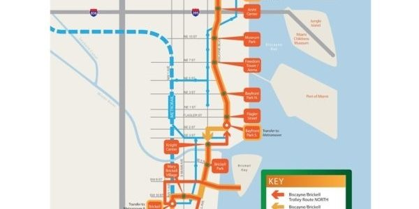 Miami Trolley Map - Merje Design regarding Miami South Beach Trolley Map