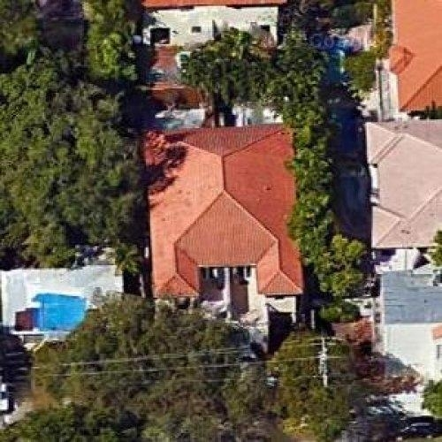 Michael Doleac'S House (Former) In Miami, Fl (Google Maps) with regard to Miami Beach Celebrity Homes Map