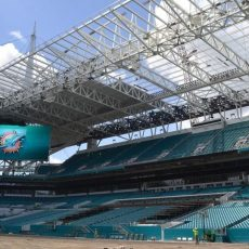 N Deck Roof Deck Enables Striking New Look For Miami pertaining to Miami Dolphins Stadium Seat Map