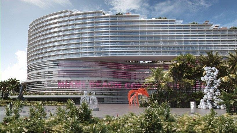 Oma Wins Miami Beach Convention Center Bid intended for Miami Beach Convention Center Map