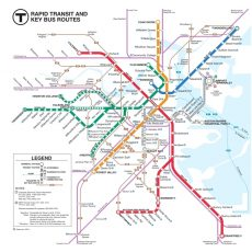 Online Maps: Boston Bus Map with regard to Miami S Bus Route Map