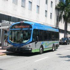 Openbaar Vervoer Wereldwijd: Wright Bus In Miami Beach with Miami Beach Trolley Bus Map