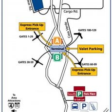 Orlando Airport Map | Airport Parking Guides inside Miami International Airport Arrivals Map