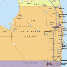 Palm Beach Zip Code Map - Adler Realty Llc 305-815-8566 throughout Miami Beach Zip Code Map