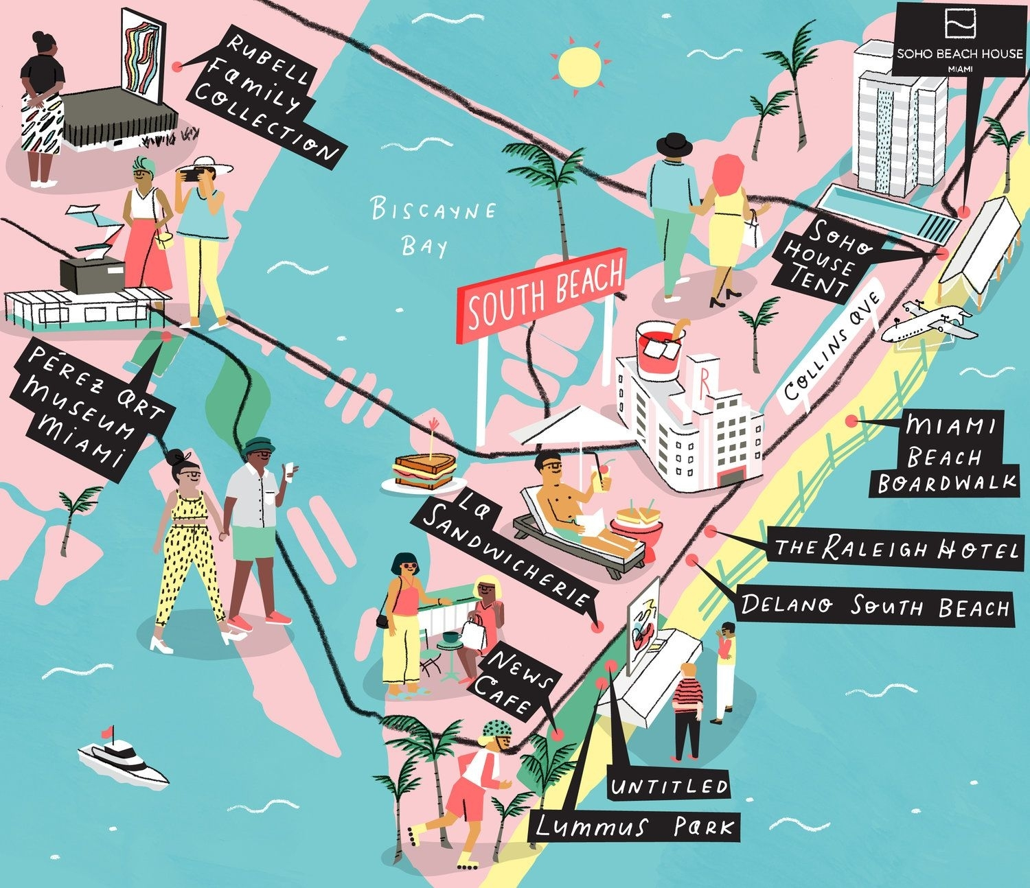 Pin On My Illustration inside Map Of Miami And Surrounding Areas