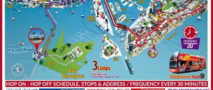 Pinfran Trella On Florida | Biscayne, Miami Beach, Key within Miami Beach Island Map