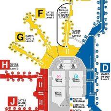 Pinmaya Cohen On Miami   Airport Map, Miami throughout Miami International Airport Map