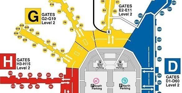 Pinmaya Cohen On Miami | Airport Map, Miami throughout Miami International Airport Map