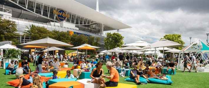 Rossetti Designed A Partial-Pop-Up Tennis Stadium For The with regard to Miami Tennis Stadium Map