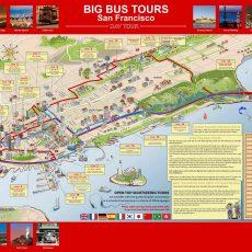 San Francisco Hop On Hop Off | Bus Route Map | Combo Deals throughout Miami Bus Hop On Hop Off Map