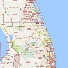 Se Fl Zip Code Map intended for Miami Beach Land Use Map