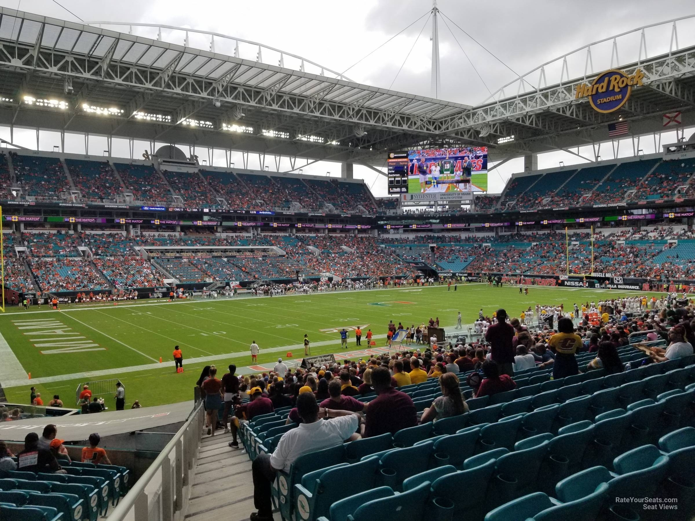 Section 122 At Hard Rock Stadium - Miami Dolphins with regard to Hard Rock Stadium Miami Fl Address