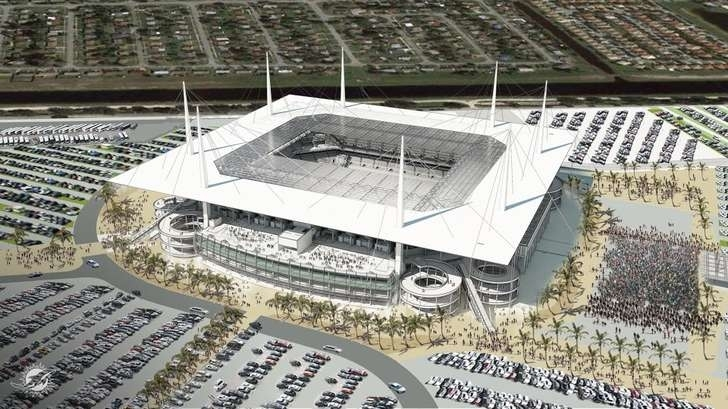 Special Taxing District Near Hard Rock Stadium Approved pertaining to Miami Dolphins Stadium Parking Map