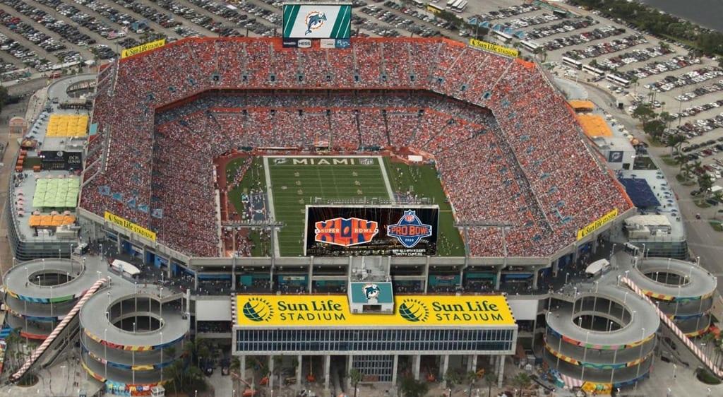 Speedy Sun Life Stadium Parking - Stadium Parking Guides with regard to Miami Dolphins Stadium Seating Map