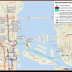 Stay Informed: Miami-Dade County Beach Corridor Rapid pertaining to Miami Dade Transit Map