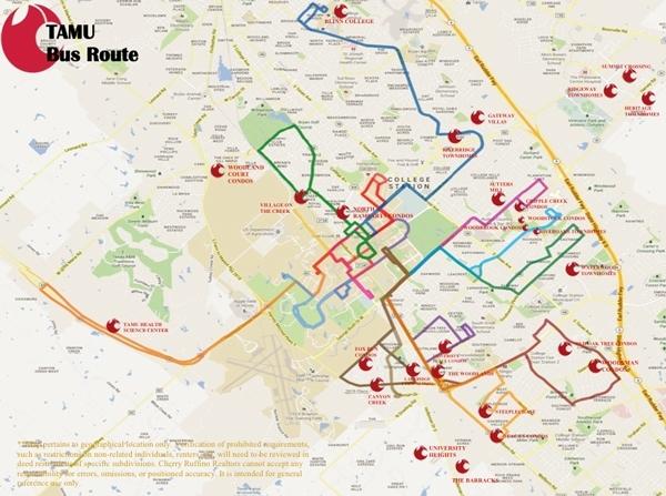 Tamu Bus Routes for Miami S Bus Route Map
