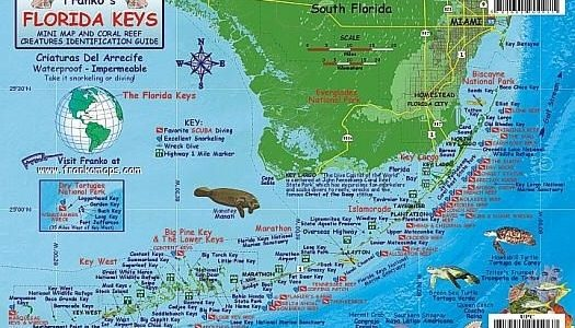 The Florida Keys | Florida Keys Map, Florida Keys, Florida for Map Miami To Florida Keys