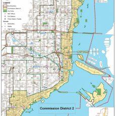 The Map Of Miami Florida | Printable Maps in Miami Florida Map