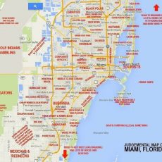 """This """"Judgmental Map"""" Of Miami Is Hilarious And Spot On inside North Miami Beach Street Map"""