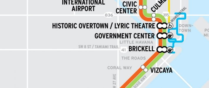 Transportation - Ultra Music Festival with Miami Bus Map Route