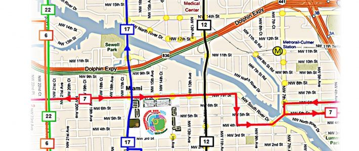 Ultimate Guide To Loandepot Park (Formerly Known As for Miami Beach Bus Route Map