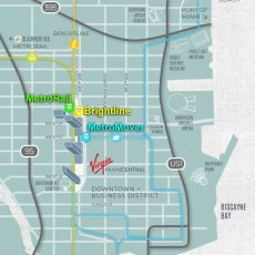 Virgin Brightline Train To Port Of Miami Guide with regard to Miami Train Station Map
