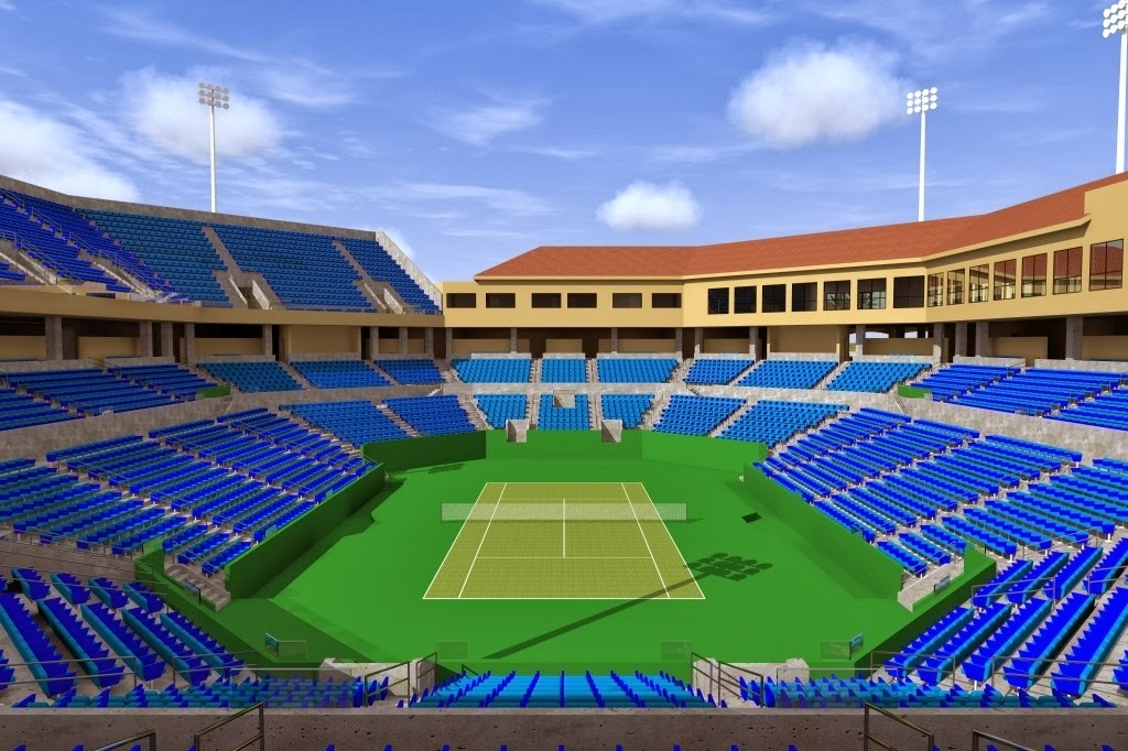 Wta Tennis Comentada Por Javier: New Stadium 2. Bnp inside Miami Open Stadium Seating